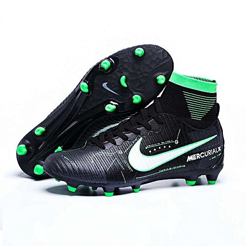Football Shoes For Men High Cleats Soccer Professional Football Boot FOOTBALL WITH ANKLE BOOTS