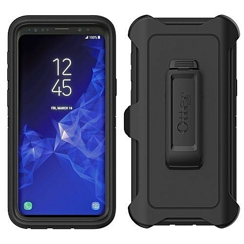 online store 5339d 33f47 Defender Otterbox Series Shockproof Case For Samsung Galaxy S9 Plus - Black