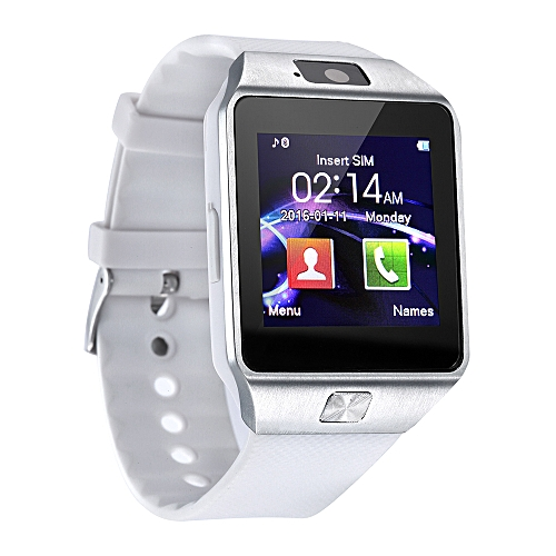 DZ09 Smart Watch Support SIM TFCard For Android Phone_White