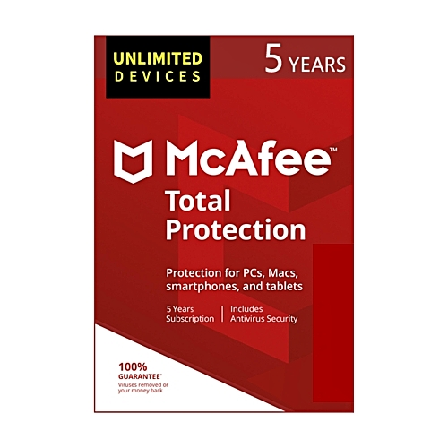 Total Protection 2019 Antivirus [PC/Mac Download]-Unlimited Devices, 5 Years (Subscription)