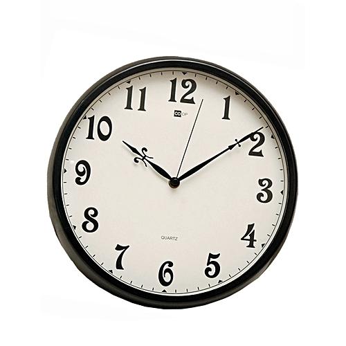 Quartz Wall Clock B7 - Black