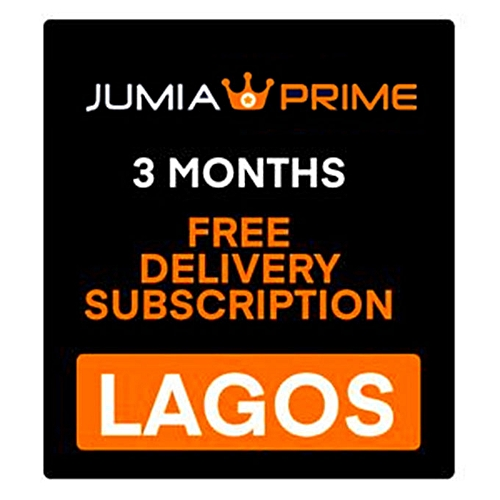 Jumia Prime - Free Delivery Lagos - 3 Months Subscription