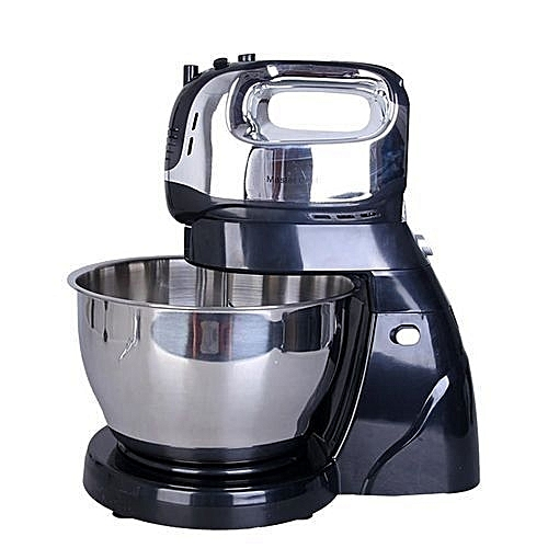 250W Electric Cake Mixer With Stainless Bowl