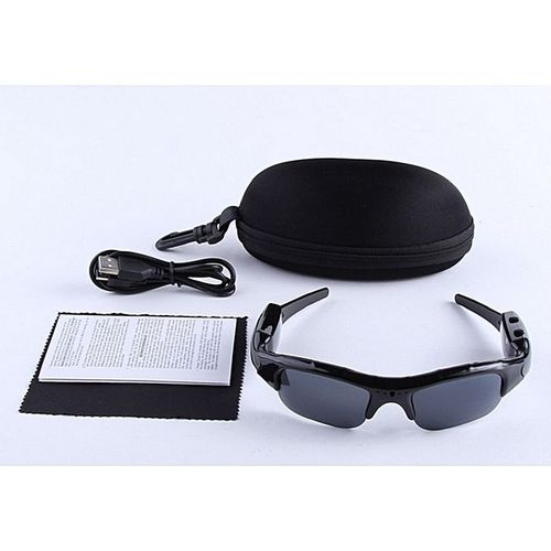 Mobile Eyewear Recorder/Camera- Black