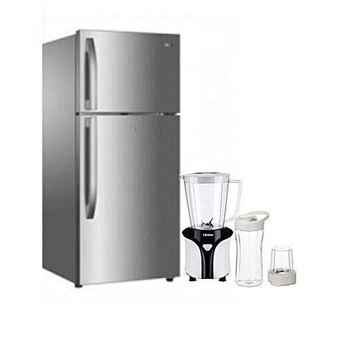 Double Door Refrigerator - 295L - HRF-300LUX +SMOOTHIE MAKER