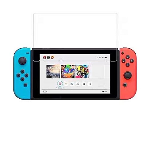Tempered Glass Screen Protector For Nintendo Switch-TRANSPARENT