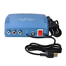 Dstv AV To RF Modulator TV Switch Audio Video RCA Ant Coaxial Converter DSTV KWESETV