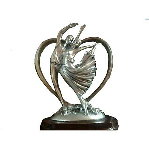 Lovers Statue - Shelf /Table Deco - 9inches Tall