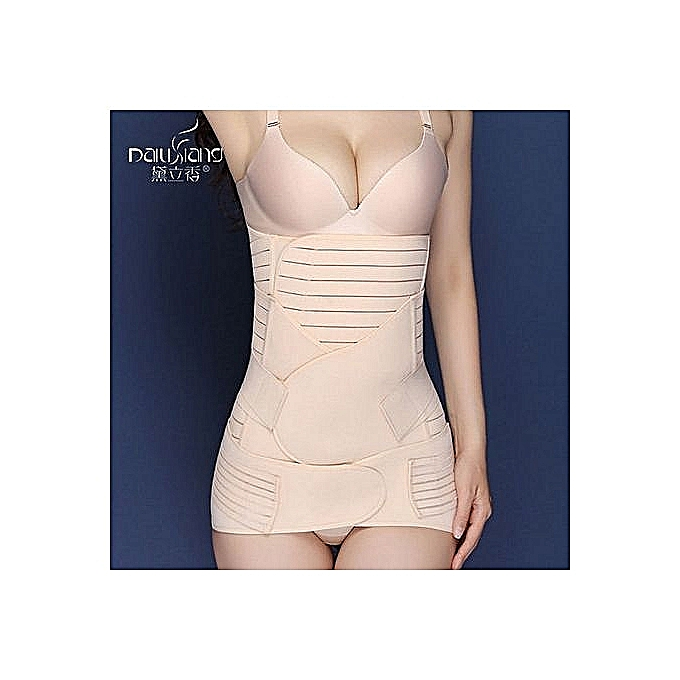 4025471347d ... Slimming Waist Belly Band Shapewear - Skin Color · Fashion 3-in-1 Pregnant  Woman Postpartum Recovery Belt Body Shaper Girdle Tummy Slim