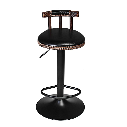 Industrial Bar Stool Home Leisure Cafe Bar Chair Front Desk Stool