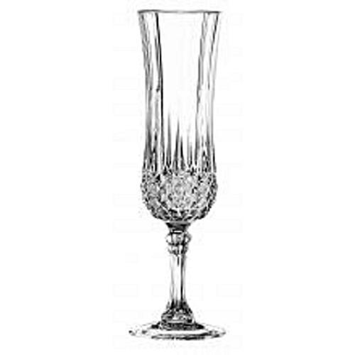 Champagne Flute Glasses - 6pcs