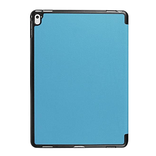 Folding Stand Leather Case Cover For Ipad Pro 9.7inch Light Blue