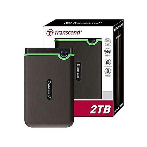 Transcend 2TB External Hard Disk Drive