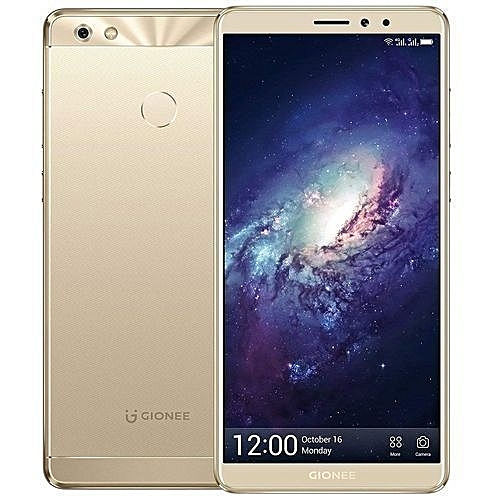 M7 Power (4GB, 64GB ROM) 5000mAh, 13MP+8MP, Android 7.1, Dual Sim 4G LTE - Gold