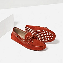 2bb7dfd8f66 Loafers With Stitches Detail