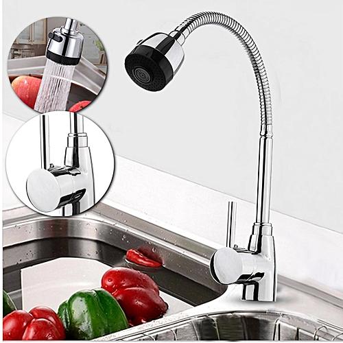360° Flexible Zinc Alloy Hot Cold TapS Water Outlet Kitchen Wash Basin Faucet