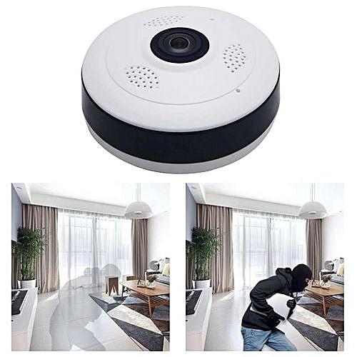 Wireless WiFi Surveillance Camera 360 Degree Fisheye Panoramic 1080P HD JY-M