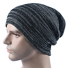 665417735be Mens Cashmere Winter Crochet Hat Ski Knit Warm Cap