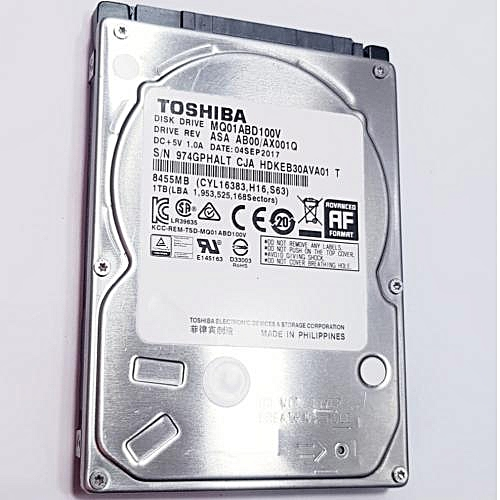 1TB INTERNAL HDD LAPTOP 2.5