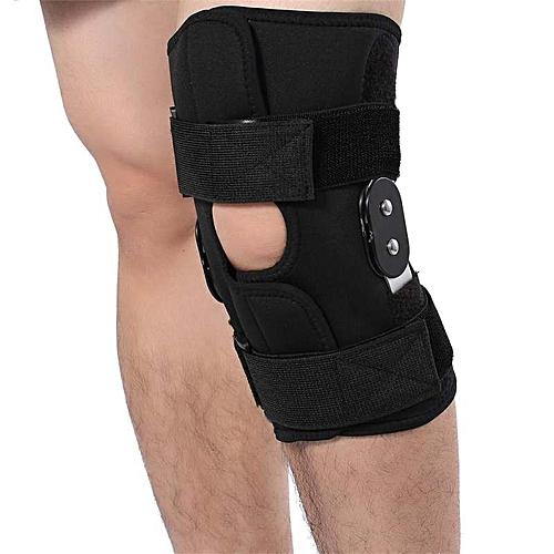 88af70df15 Generic Hot Adjustable Knee Brace Pad Support Leg Protector Compression  Sleeves Safety Strap (XL)