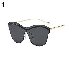 3291af2e9e Fashion Accessory Unisex Rimless Oversized Outdoor Sunglasses Colored Lens  Gift-1