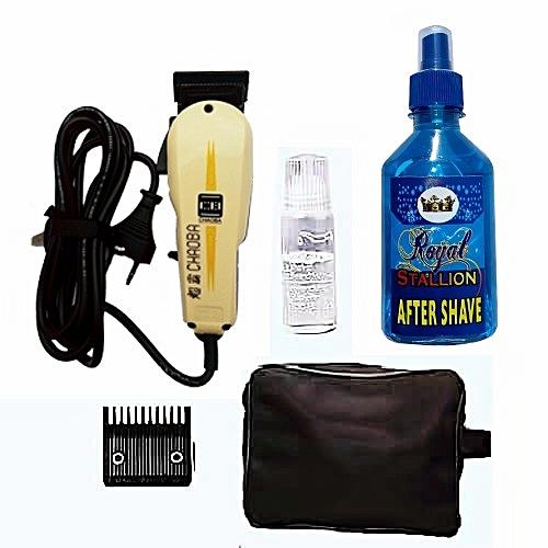 Chaoba Professional Hair Clipper + Aftershave An Clipper Bag