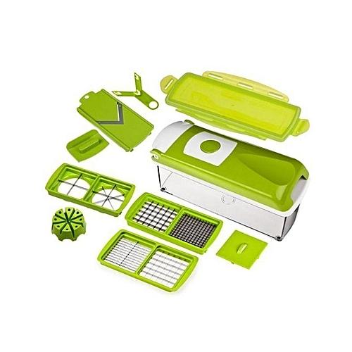 Nicer Dicer Plus Vegetable And Fruit Slicer - Green