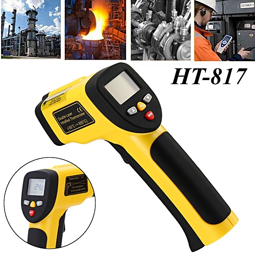 Infrared Thermometer Digital Pyrometer Non Contact Temperature Laser -50℃~1050℃