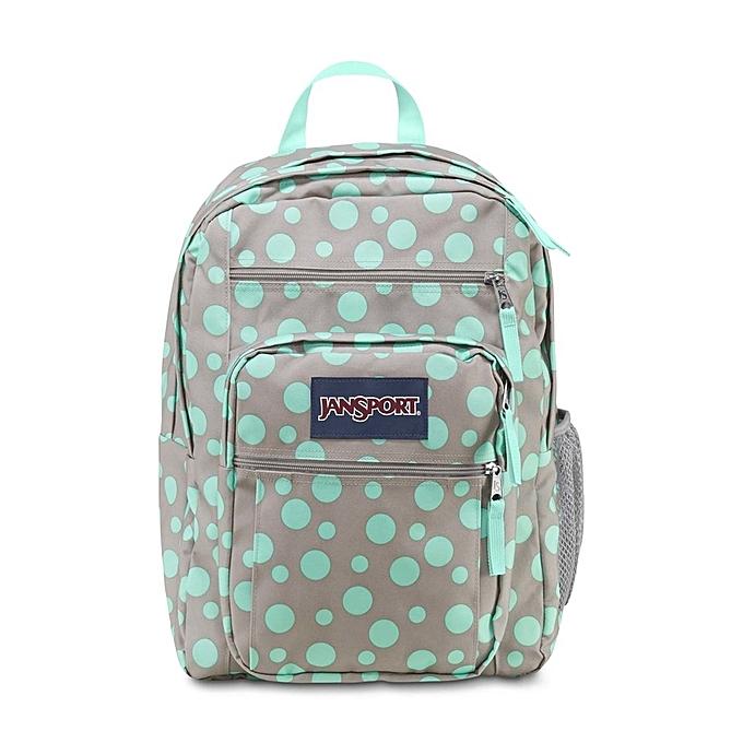 7c122742c8 JanSport Big Student Backpack - Grey Rabbit Sylvia Dot