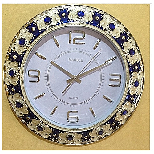 Marble Stone Wall Clock