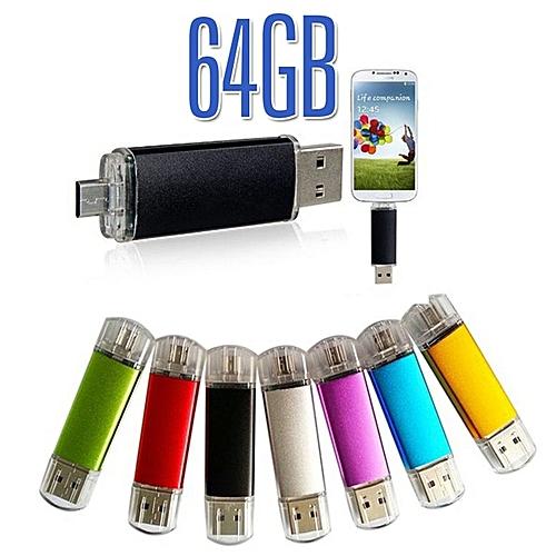 Generic OTG 64GB USB 2.0 Flash Memory Stick USB Flash Drive