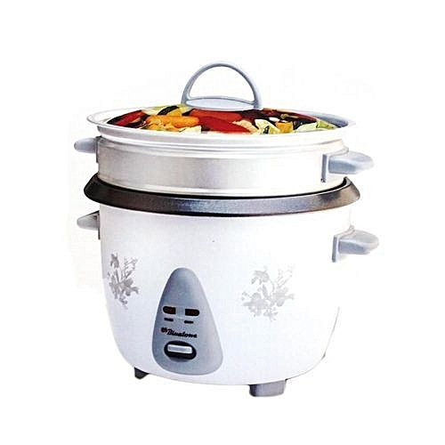 2.8 Litre Rice Cooker - White