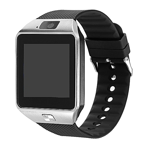 Android Smart Watch(Bluetooth Sim & SD Card Enabled Phone Watch)- For Android IOS Silver