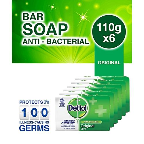Antibacterial Bathing Soap 110g - Pack Of 6