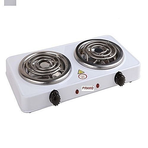 Double Burner Electric Hot Plate (Ring)