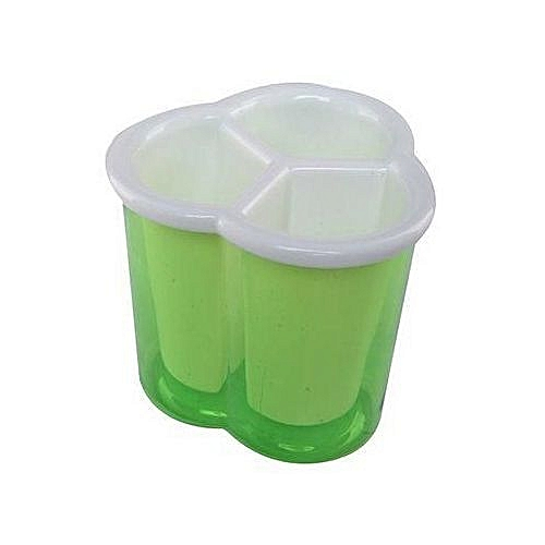 Drain Cutlery Container Storage - Green