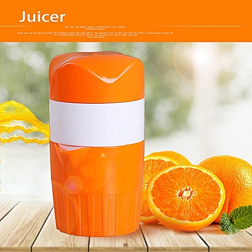 Plastic Hand Manual Orange Lemon Juice Extractor Fruits Squeezing Reamers