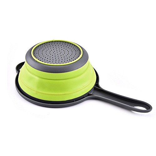 Folding Kitchen Non Stick Food Vegetable Strainer