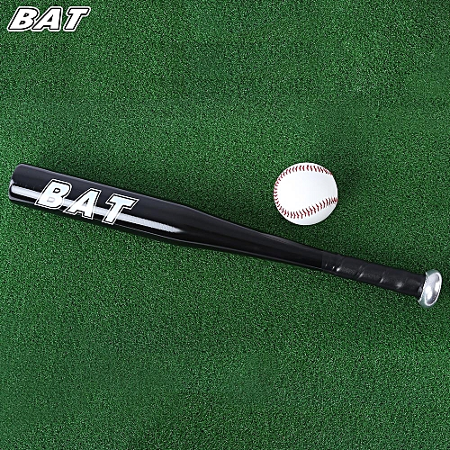 BAT 20 Inch Aluminum Alloy Outdoor Sports Soft Baseball - Black