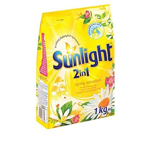Spring Sensations Detergent Powder (yellow) 1kg
