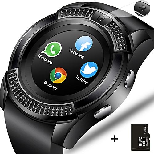 Bluetooth Touch Screen Wrist Watch With Camera/SIM Card Slot Smart Watch