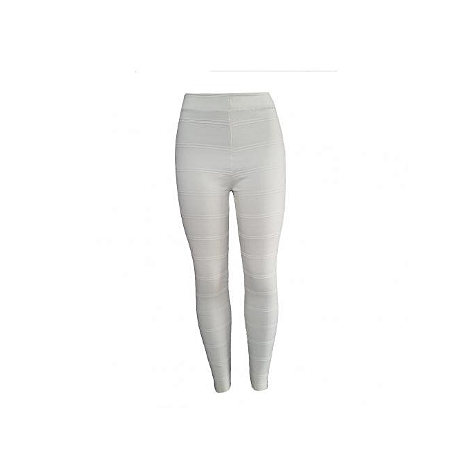 2e3d0deda39cd Ghali AFMBL3 Multi-Purpose Pants Ankle Leggings (Off White) | Jumia ...
