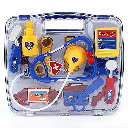Kids Educational Pretend Doctor Case Toy Set Child Medical Kit.