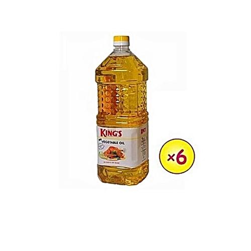 DEVON KING'S Vegetable Cooking Oil 2litre X6 Bottles (1 Carton).