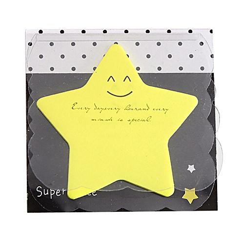 Houseworkhu Cute Mini Memo Pad Sticky Note Paper Scrapbooking Sticker Pads -Yellow