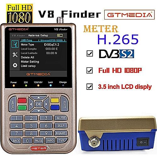 V8 Finder Meter DVBS / DVBS2 / DVB-S2X
