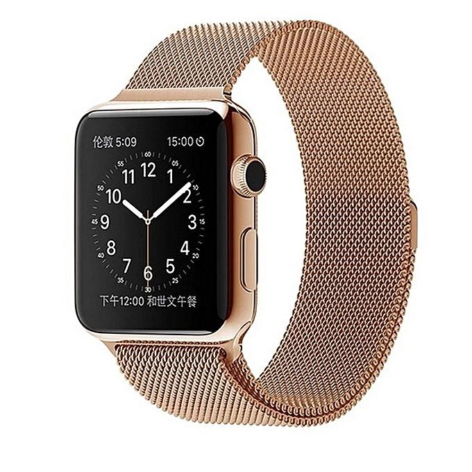 apple watch straps rose gold