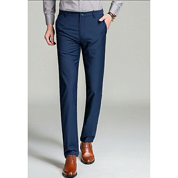 7c7a12f940a Fashion Quality Men Formal Pant Trouser - Blue