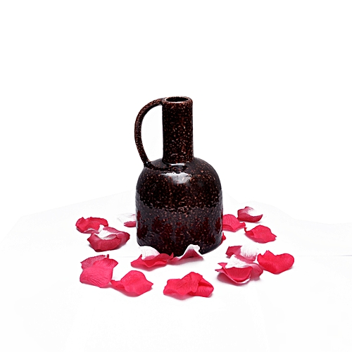 Dark Brown Jug -vase