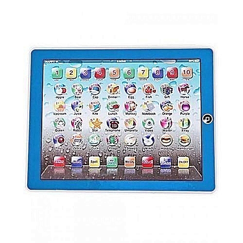 Kids Learning Tablet >> Y Pad Kids Educational Ipad Learning Tablet Blue Colour Jumia Ng